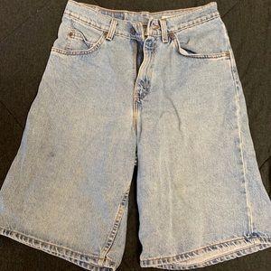 RARE Vintage 1980's Levi Denim Long Shorts